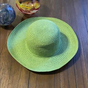 NWT J. Crew 100% Straw Packable Hat